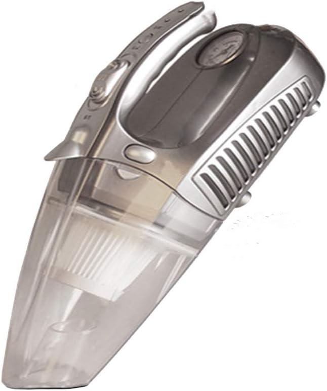Saman Aspirador De Mano Portátil,Cuatro Funciones Multifunción con Iluminación LED 12V 100W para Vehículos con 4000Pa Potente Aspiración 4.5M Cable,Accesorios Complementarios