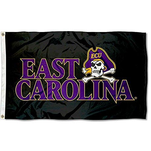 East Carolina Pirates Black Flag