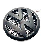 vw gti matte black emblem - Carbon Genetics Matte Black VW Transporter T5-1 Front Grill Badge Emblem 2010-2015