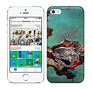 Best Power(Tm) HD Colorful Painted Watercolor Animal Skulls Break Through From Another Dimension In This Abstract Painting By Shann Larsson X Hard For SamSung Note 2 Phone Case Cover