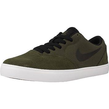Nike SB Check (GS) Skateboarding Schuhe, Kinder, Braun, 36 ...