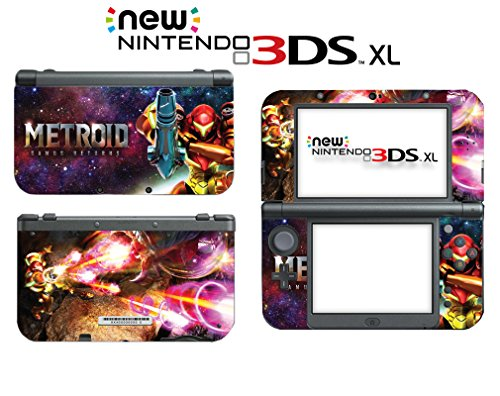 Metroid Samus Returns Aran Fusion Suit Zero Video Game Vinyl Decal Skin Sticker Cover For The New Nintendo 3Ds Xl Ll 2015 System Console