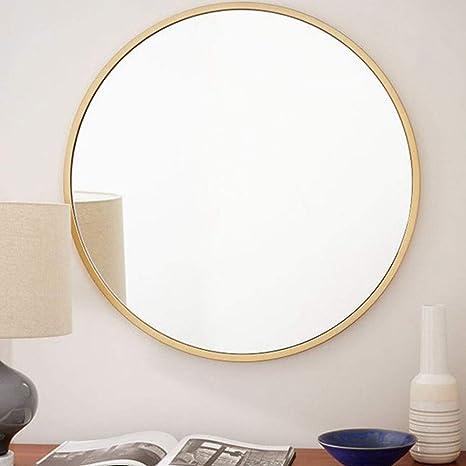 etc. Miroir mural de salle de bains,miroir de courtoisie la luminosit/é est deux fois celle des peintures murales modernes 30 ~ 100cm de diam/ètre,convient /à lentr/ée,/à la salle de bain,au salon