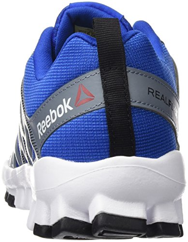 Reebok Bd5393, Zapatillas de Deporte para Niños Azul (Awesome Blue /             Asteroid Dust /             Black /             White)