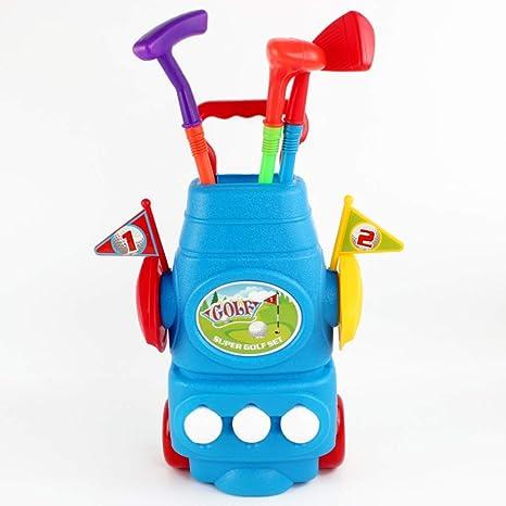 YPSMJLL Juego De Palos De Golf para Niños Interiores Y ...