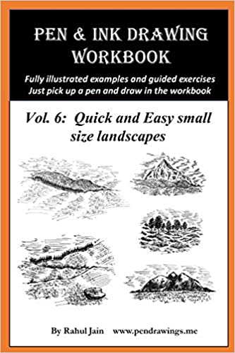 Buy Pen And Ink Drawing Workbook Vol 6 Drawing Quick And