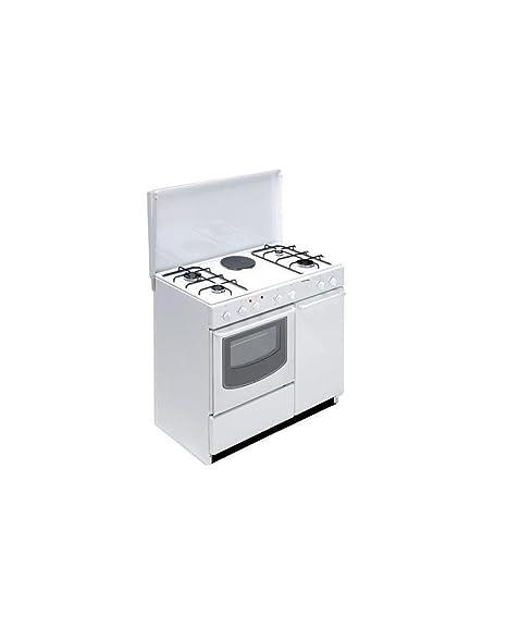 Bompani BI940EA/L Freestanding Combi A White cooker - Cookers ...