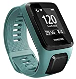 TomTom Spark 3 Cardio, GPS Fitness Watch + Heart Rate Monitor (Aqua, Small)