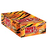 Tiger's Milk Energy Bar with Protein, Peanut Butter Crunch, 1.23-Ounce Bars, 24 Count (Pack of 2)