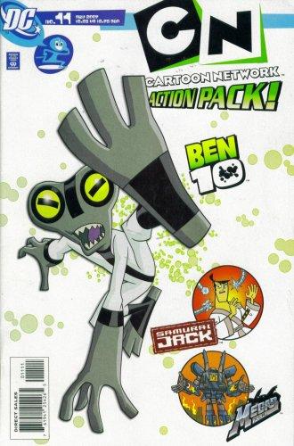 Cartoon Network Action Pack #11 : Ben 10, Samurai Jack, & Megas XLR (DC -