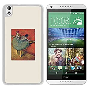 Unique Designed Cover Case For HTC Desire 816 With Ak Edgar Degas Ballerina Art Classic (2) Phone Case