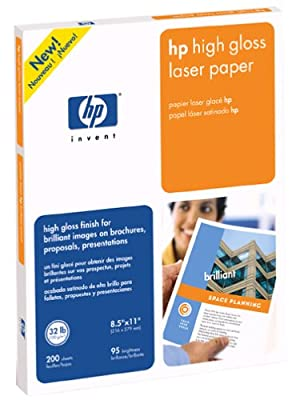 HP Q2419A High Gloss Laser Paper for HP Color LaserJet and Mono-Chrome Printers