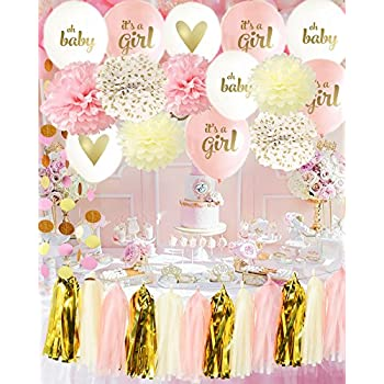 Amazon Baby Girl Baby Shower Decorations Its A Girl Baby