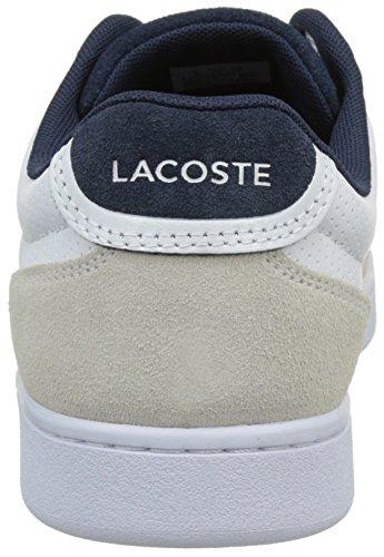 Lacoste Setplay 117 1 Spm Bassi Uomo Bianco wht