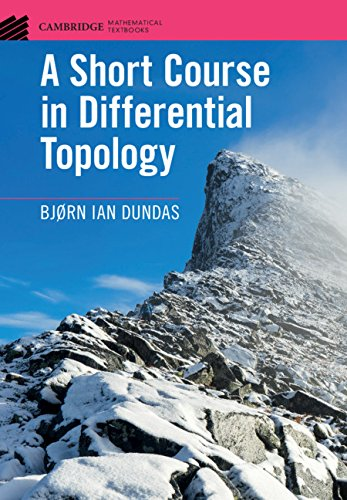 A Short Course in Differential Topology (Cambridge Mathematical Textbooks)