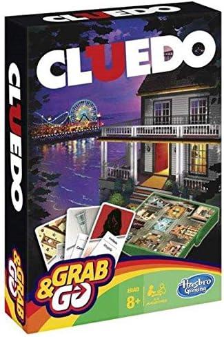 Cluedo juego de mesa Grab & Go – Hasbro. TODO el misterio y el suspense en movimiento.: Amazon.es: Hogar