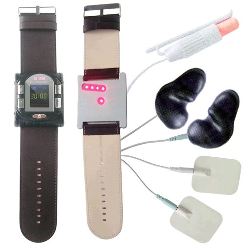 Smart Health Watch Medicomat-17 Watch Type Laser and Acupuncture Health Therapy by Medicomat