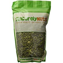 Sincerely Nuts Pumpkin Seeds- Pepitas (Raw) (No Shell) 2LB Bag