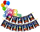 12 Birthday Party Rectangles For Banners #1