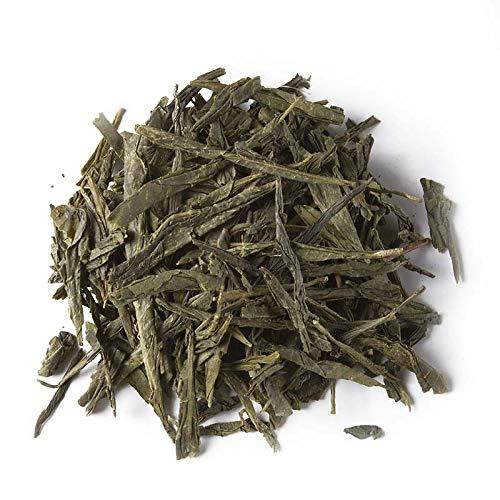 Aromas de Te - Te Verde Japones Bancha Produccion Ecologica - Organico - Diuretico - Bajo en Teina - Muy Fresco y Sabroso - Japanese Green Tea - 40 gr