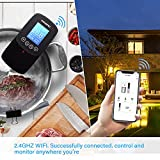 Inkbird WIFI Sous Vide Precision Cooker and 30PCS