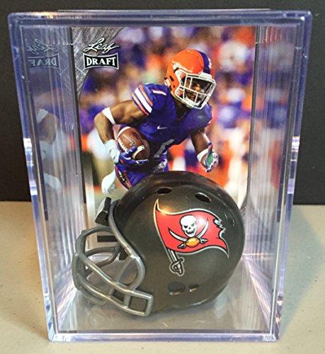 Tampa Bay Buccaneers 2016 NFL Draft Helmet Shadowbox w/ Vernon Hargreaves III card