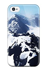 Shannon Galan's Shop Lovers Gifts Durable Snow White Mountains Back Case/cover For Iphone 4/4s