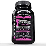 Rockstar Garcinia Cambogia Diet Pill for Women, Pink, 60 Count