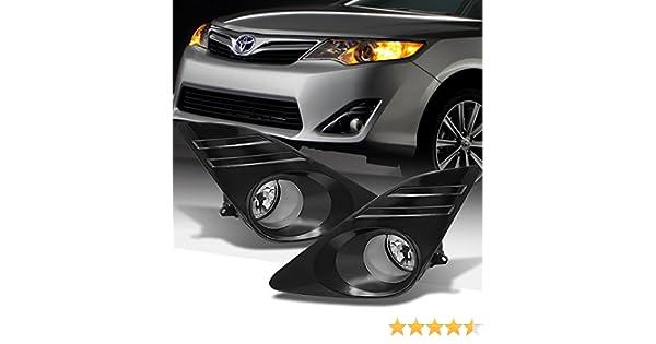 DNA Motoring FL-HC01-CH Front Bumper Fog Light Driver /& Passenger Side
