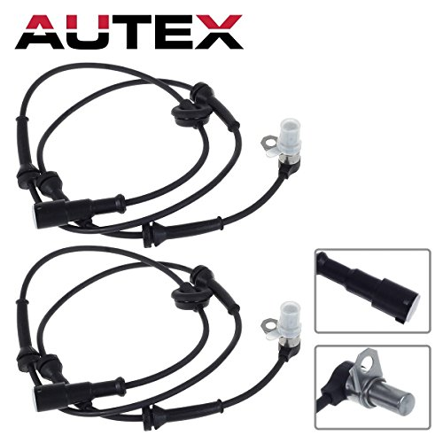AUTEX 2PCS ABS Wheel Speed Sensor Front Left & Right ALS1169 compatible with Land Rover Discovery 1999 2000 2001 2002 2003 2004 4.0L ()