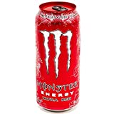 Gastro Club Compatible with Monster Energy Ultra Red Diversion Safe Stash Can