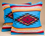 Mission Del Rey Pair of Old Style Southwestern Pillow Covers 18×18 – Zuni Turquoise Review
