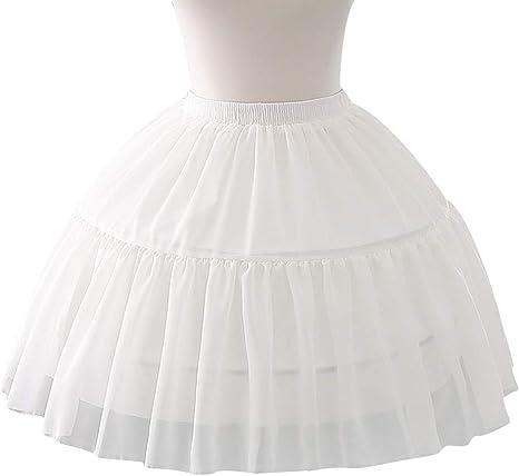 Amazon Com Ringbuu Women Girls Petticoat Multi Layer Cosplay