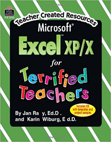 Download Microsoft Excel(R) XP/X for Terrified Teachers PDF