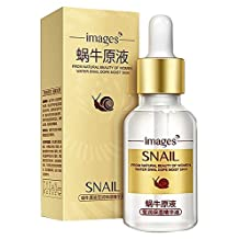 Z-COMFORT Snail filtrate anti wrinkle & aging facial moisturizing liquid serum for skin repair - 1 pack, 173 Grams