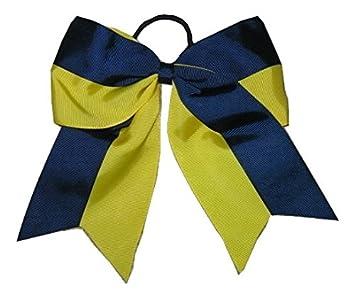 "NEW /""APPLE /& 123/"" School Cheer Bow Pony Tail 3 Inch Ribbon Girls Cheerleading"