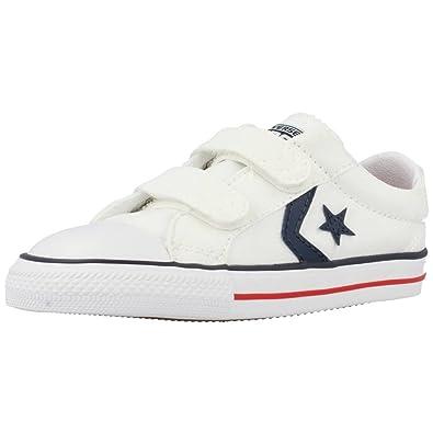 c9e8c776e60029 Converse - Kids Starplayer 2 Velcro Shoes In White  Amazon.co.uk ...