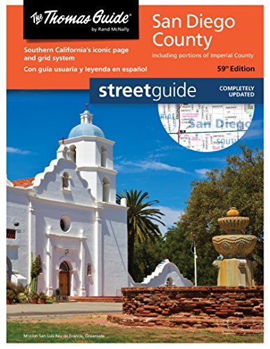 San Diego Thomas Guide (Thomas Guide Street Guide)