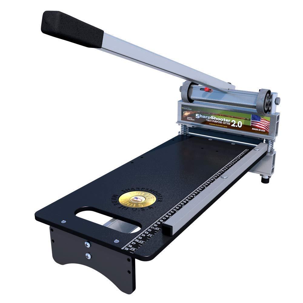 Bullet Tools 9 inch EZ Shear Sharpshooter 2.0 Laminate Flooring & Siding Cutter, 1 Year Warranty by Bullet Tools