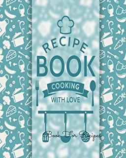 Book For Recipes Journal Notebook Recipe Keeper Organizer To Write In Storage