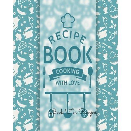cookbook template amazon com