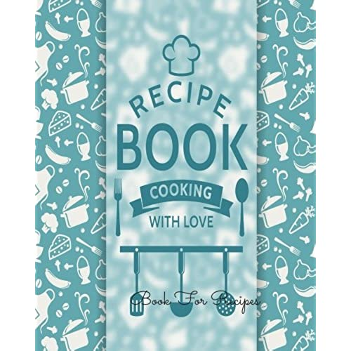 cookbook template amazon com