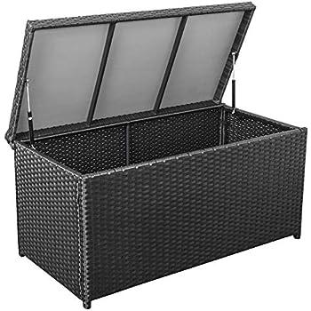Amazon Com Sundale Outdoor Deluxe Wicker Deck Storage