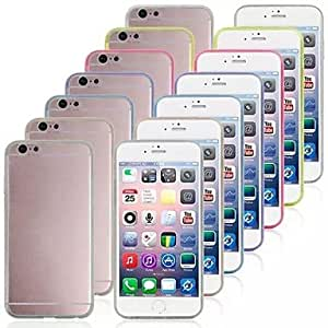 Mini - Ultra-thin TPU Cover for iPhone 6 , Color-White