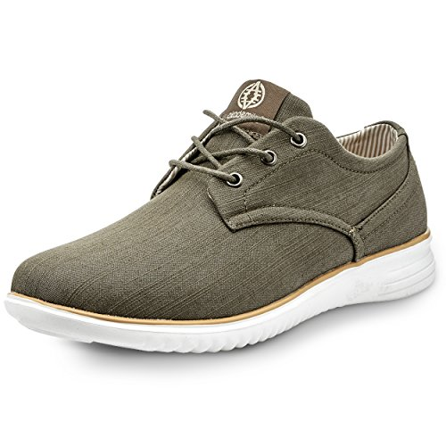 Cool Oxford - Akademiks Men's Oxford Style Fashion Sneakers – Casual, Chambray Shoes