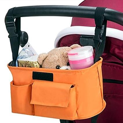 Treasure-house Universal Baby Jogger cochecito Organizador Bolsa/Buggy Parent consola con correa para