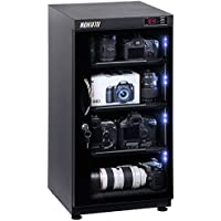 102L electronic automatic digital control dry box cabinet(moisture-proof box) storage for DSLR camera lens, Built-in LED light storage easy,Promise 5 Years Warranty;UL certified