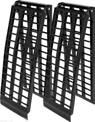 10 ft HD Wide 4 Beam UTV Loading Ramps pair ranger rhino gator atv truck 120DUTV