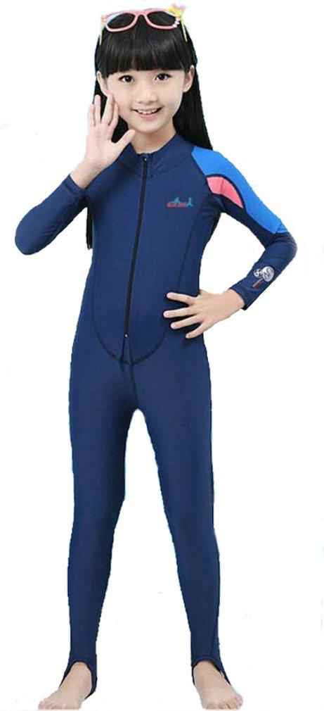 太陽保護フルボディ水着水着Stinger Suit for Boys and Girls B06XSV1RR4 S for height 33