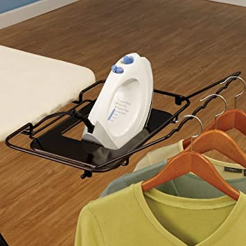 Household Essentials 201340 Compact Plastic Top Ironing Board